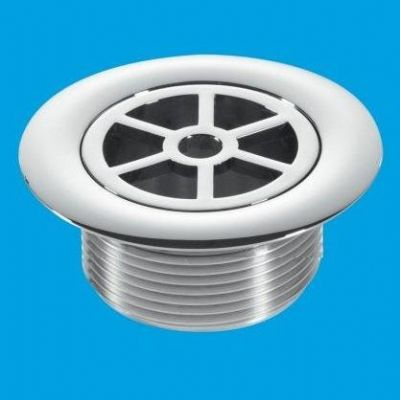 McAlpine Chrome Plastic 70mm Shower Flange Short Tail - 39004062